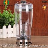 2016 la FDA populaire BPA libèrent la bouteille en plastique de vortex, la bouteille électrique de dispositif trembleur de la batterie 450ml en plastique (HDP-0825)