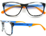 2016의 최신 판매 형식 아세테이트 Eyewear Handmade 아세테이트 안경알 프레임 광학 프레임은 도매한다
