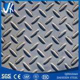 Inoxidable Seel la placa Checkered (T 1.8-10m m * W 1000-2000m m * L)