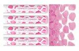 꽃 금속 결혼식 Confetti를 가진 장미 꽃잎 Confetti 또는 당 Popper