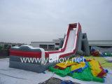 膨脹可能なカバのスライド、販売のための大きく膨脹可能な水スライド