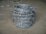 ISO9001 공장에 의하여 직류 전기를 통하는 /PVC 입히는 가시철사 담