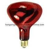 Стекло ультракрасного светильника R40 красное для обработки тела