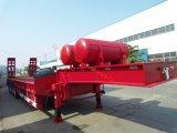 Welle der Gans-Stutzen-konkave Träger-4 80 Tonnen-niedriger Bett-halb Schlussteil