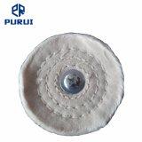 """3""""X1/2"""" montado Stitch algodão polimento de polir para o metal da roda"""
