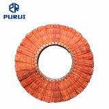 Polissage de polissage de sisal des voies respiratoires rouge pour le métal de roue