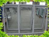 UPVC/ impacto de huracanes de pvc ventanas de cristal / Vidrio Laminado Windows