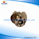 Isuzu C240 9-12310-413-0를 위한 자동 엔진 부품 크랭크축