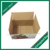 Cartão frente e verso corrugado para o transporte logístico