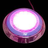 24W 수영풀을%s 잘 고정된 LED 수영장 램프