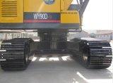 Excavadores hidráulicos de la nueva pequeña correa eslabonada que cogen la máquina de madera
