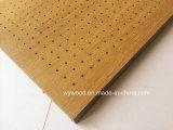 Hochdruck lamellenförmig angeordnetes Peforated hölzernes akustisches Panel