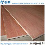 6-18mm Okoume barniz para muebles de madera contrachapada frente