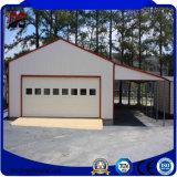 Construção de aço clara pre fabricada para a garagem do metal