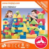 Bloco de construção para bebês de plástico macio e infantil engraçado