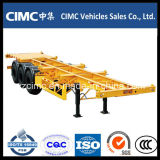 Cimc Heavy Duty Low Bed Truck Trailer