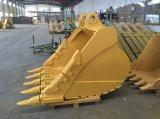 Cubeta da máquina escavadora para a grande máquina escavadora 340d2 da lagarta