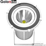 120lm/W 5 años de garantía 20 45 90 grado IP67 Resistente al agua en el exterior proyector LED 100W