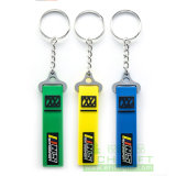 Customized Fashion Metal / PVC / Feather Keychain pour Business Party