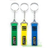 Kundenspezifische Form Metal/PVC/Feather Keychain für Geschäfts-Partei