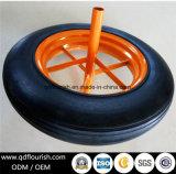 14 Zoll-Schubkarre-fester Gummirad-Gummireifen für Laufkatze