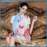 Шифон уходе жоржет шелковые шарфы шаль женщин длинный