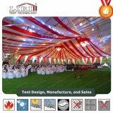 1000人容量のための強い品質の屋外の家具のテントと結婚する25X50m党
