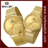Belbi 간단한 사랑 방수 석영 선물 한 쌍 손목 시계