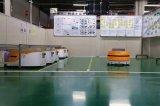 Automatische Geleide Agv van de Lading van het Voertuig Lichte Lidar van de Navigatie van de Laser Navigatie