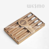 4-PC Set Eco-Friendly Bamboo Toothbrush (WBB0804C)