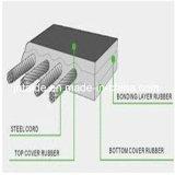 一般目的のための帯電防止のために広く利用された鋼鉄コードのコンベヤーベルトHg/T3973