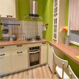 Конструкция кухни PVC типа теплого цвета 2015 европейская