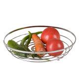 Cestino rotondo ecologico del supporto della frutta della cucina del metallo