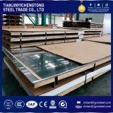 China Proveedor 316 316L 2b termina 4X8 para la construcción de la hoja de acero inoxidable