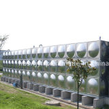 Réservoir d'eau combiné d'acier inoxydable avec la structure globale