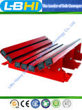 Impact Bed Belt Conveyorのための帯電防止および炎Retardant