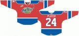Hokey di ghiaccio domestico personalizzato dell'alternativa della strada dei re 2009-2012 occidentale dell'olio di Edmonton della Lega di Hockey dei capretti delle donne degli uomini Jersey