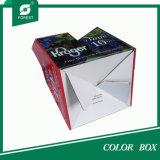 2016 Fashion Design Corrugated Four Bottles Wine Box