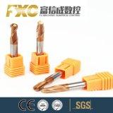 Fxcの極度の硬度4fの球の鼻の端の製粉カッター
