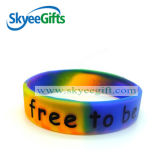 Personalized Designの高品質Swirl Silicone Bracelets