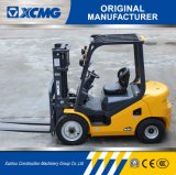 XCMG Hot Salts 2ton Triplex Mast Desiel Forklift for Sale
