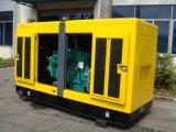 125kVA 100kwのスタンバイのレートの防音のCumminsのディーゼル発電機