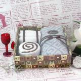 純粋な綿のギフト用の箱タオル