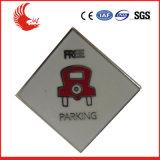 Emblema relativo à promoção do metal da venda direta da fábrica