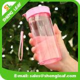 Frasco bebendo plástico creativo Leakproof bonito dos estudantes por atacado (SLF-WB024)
