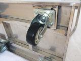 Caminhão de mão da plataforma do aço inoxidável/carro do trole