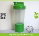 bottiglia di acqua 500ml con la sfera mescolantesi d'acciaio di Staineless
