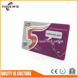 昇進のための透過PVCギフトのカード