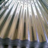 Strato d'acciaio ondulato tuffato caldo rivestito del tetto dello zinco duro pieno Z80