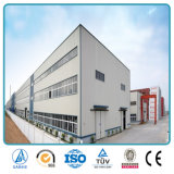 Edifícios industriais elevados pré-fabricados da planta de fábrica das construções de aço da ascensão da grande extensão